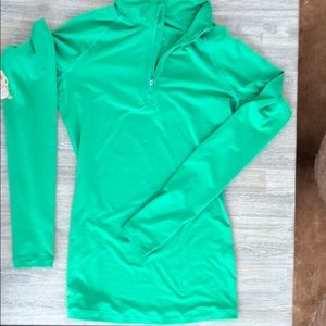 Nike Pro Fitted Kelly Zip Half Zip, Size S